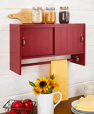 Country Wall Storage Cabinets