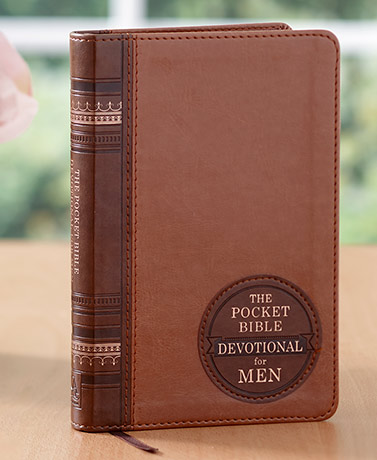The Pocket Bible Devotional for Women or Men