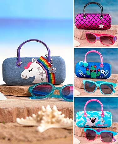 Girls' Sunglasses and Case Sets