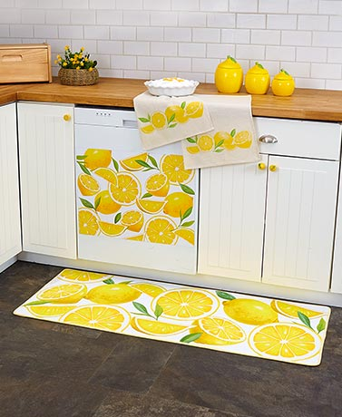 Lots O' Lemons Kitchen Collection