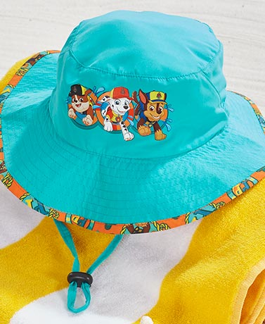 Licensed Toddler Sun Hats with UPF 50+