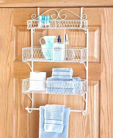 Over-the-Door Beauty Organizers