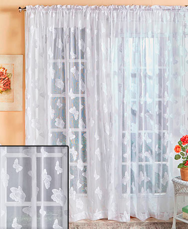 Madame Butterfly Curtain Collection