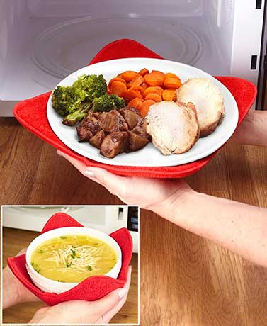 Set of 4 Microwave Bowl Huggers