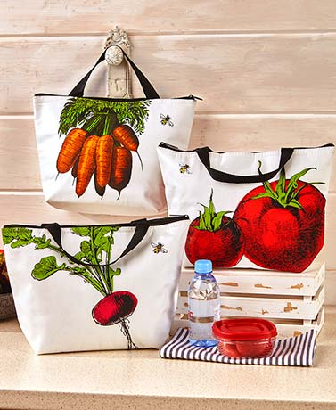 Farmhouse Insulated Lunch Totes