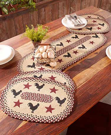 Braided Tabletop Decor or Rugs