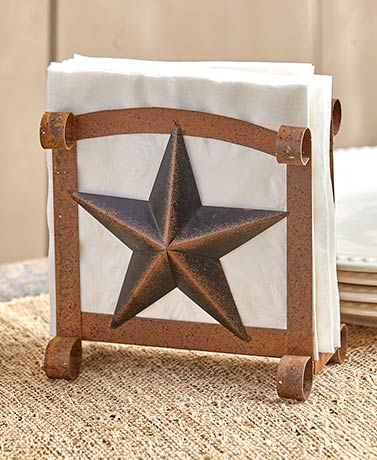 Rustic Country Star Napkin Holders