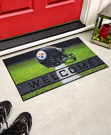 NFL Welcome Rubber Doormats
