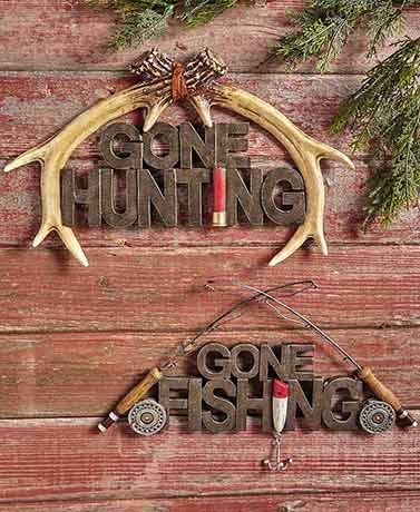 Outdoorsman Wall Hangings