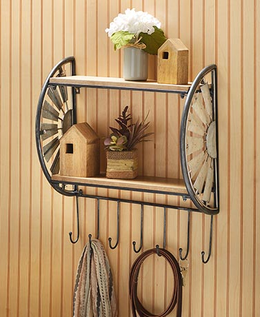 Country Wall Shelves