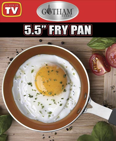 "Gotham Steel™ 5.5"" Egg Fry Pan"
