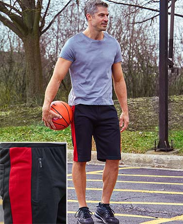 Men's French Terry Active Shorts