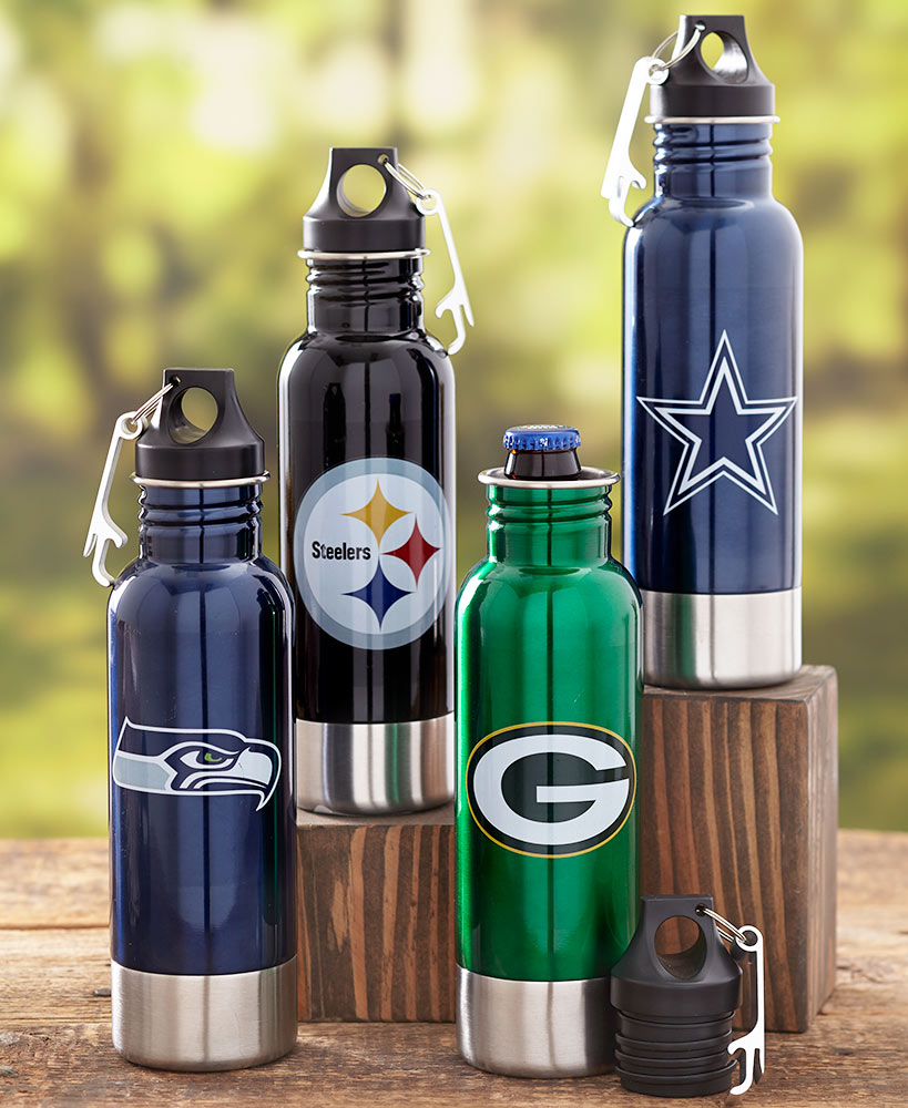 NFL Stainless Steel Bottle Chillers