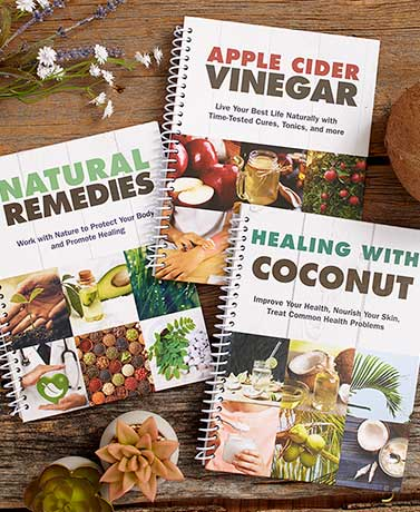 Natural Remedies 3-Book Set