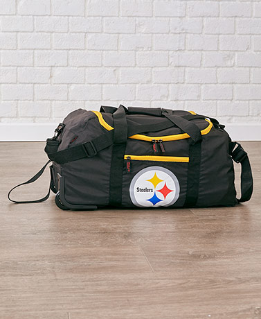 "22"" NFL Collapsible Wheeled Duffels"