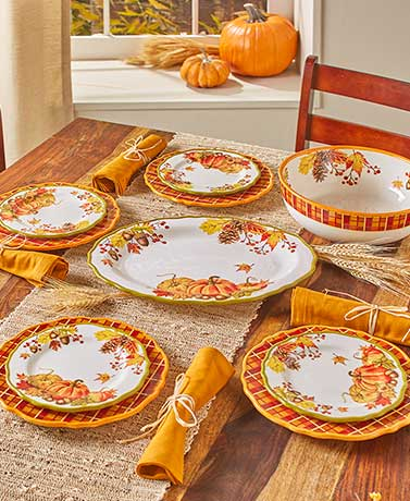 Harvest Tabletop Collection