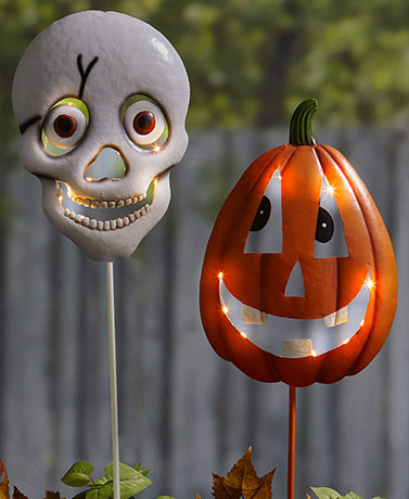 Lighted Halloween Stakes