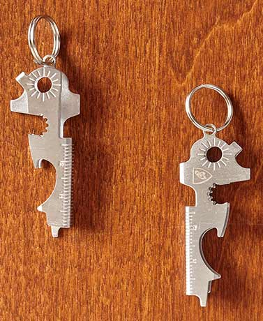 Set of 2 Multifunction Key Chain Tools