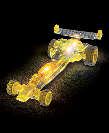 6-In-1 Laser Pegs® Construction Toys