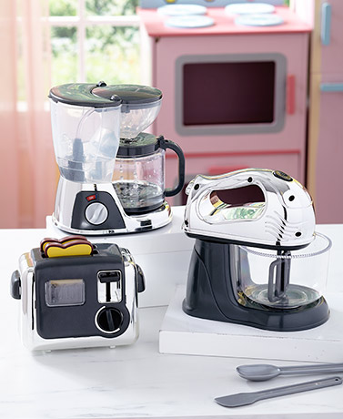 Kids' Battery-Operated Kitchen Appliances or Utensil Set