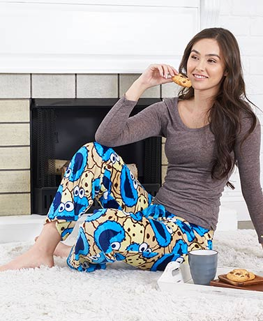 Licensed Luxurious Plush Lounge Pants