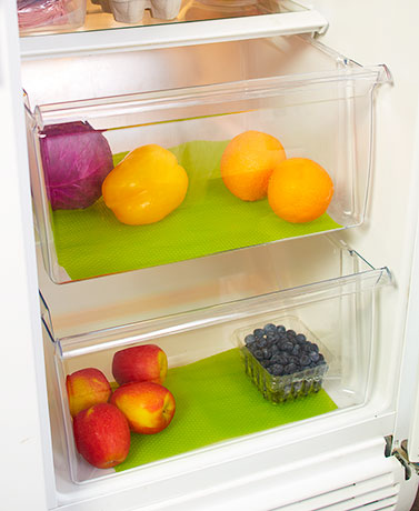 Set of 2 Produce Saver Drawer Liners