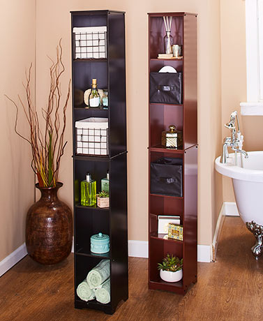 Slim Storage Tower or Basket Set