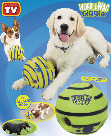 Wobble Wag Giggle™ Dog Ball