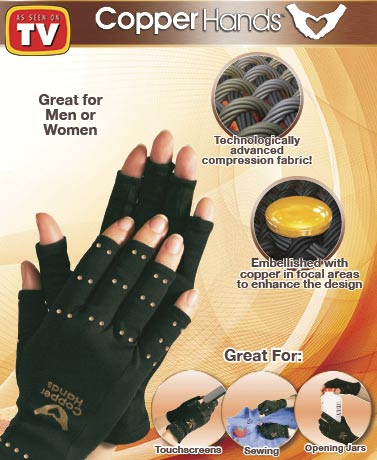 Copper Hands™ Arthritis Gloves