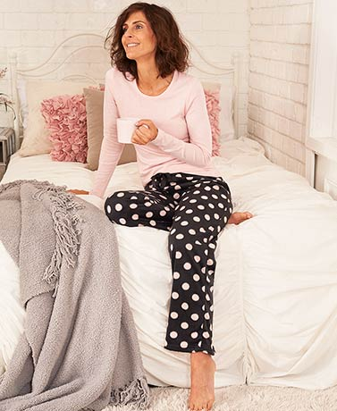 Women's Knit and Fleece Pajama Sets