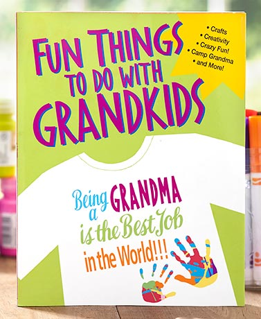 Fun Things to Do with Grandkids Book