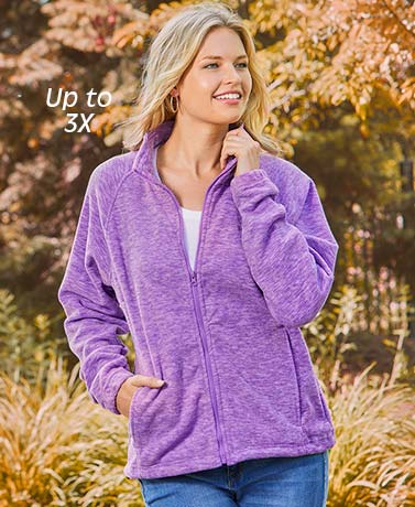 His or Hers Trailcrest® Fleece Jackets