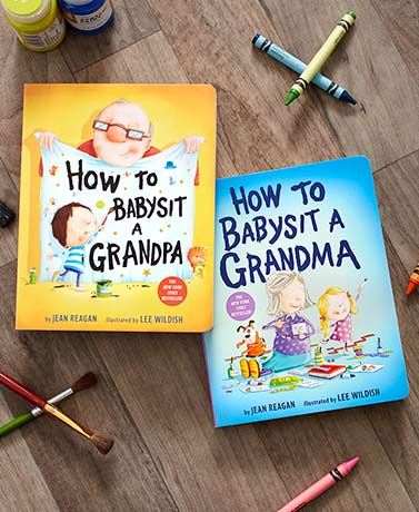 How to Babysit a Grandma or Grandpa Books
