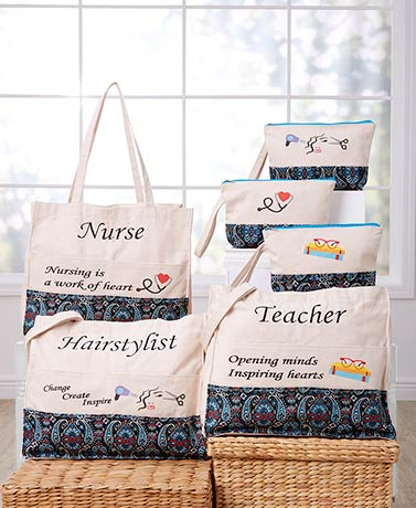 Oversized Occupational Tote Bags or Pouches