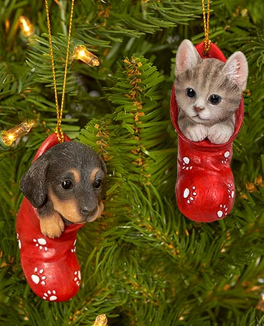 Dog Breed or Cat Ornaments