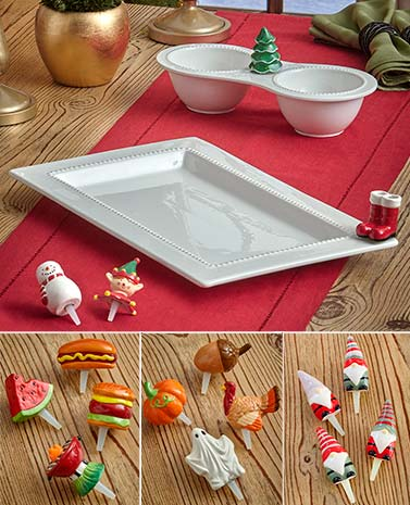 Charmers Serveware and Decorative Accents