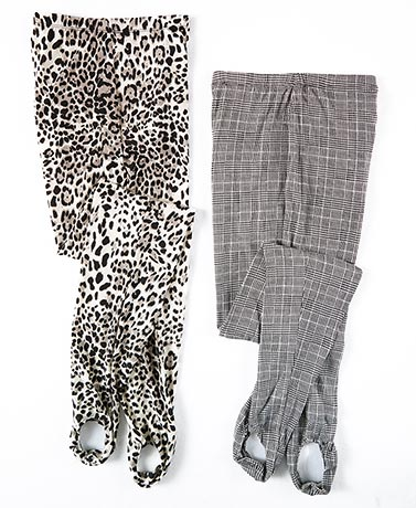 2-Pk. Printed Stirrup Pants