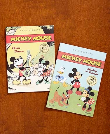 Mickey Mouse Vintage Art Storybook Set