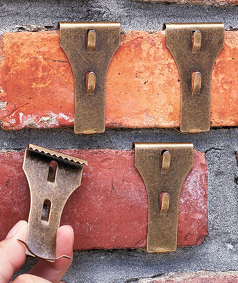 Brick or Siding Clips
