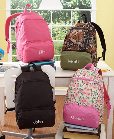 Personalized Full Size Backpacks