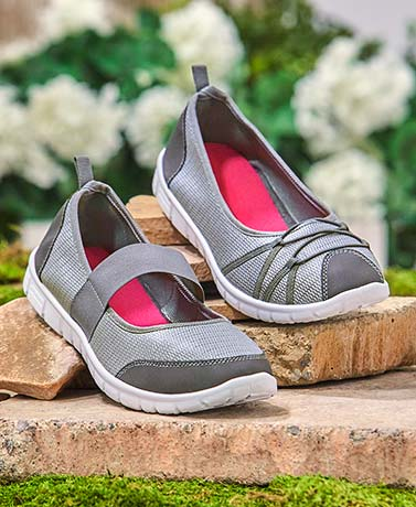 Women's Canvas Memory Foam Shoes