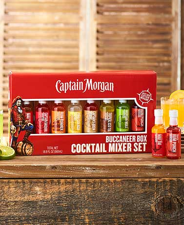 Captain Morgan Cocktail Mixer Gift Set