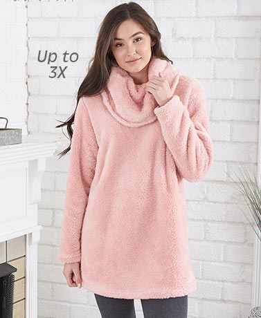 Comfy Cozy Cowl Neck Tunics