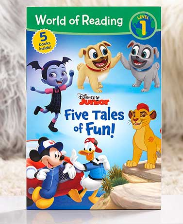 Disney Junior Five Tales of Fun Book