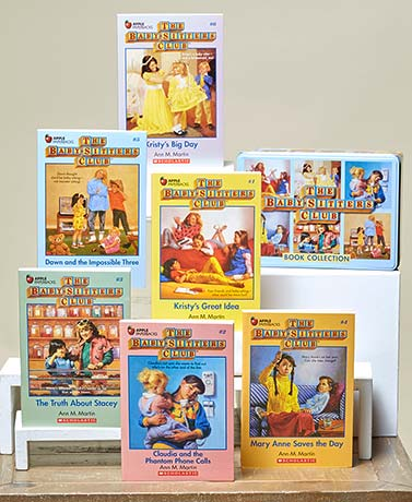 Baby Sitters Club 6-Book Set in a Tin Box