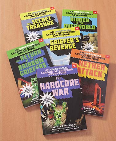 Unofficial Griefers Adventure 6-Book Set