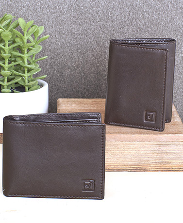 Stone Mountain Men's RFID Leather Wallets