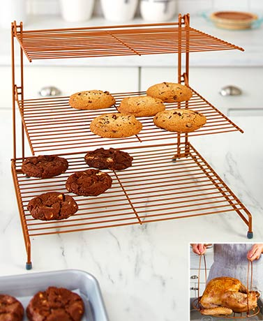 Copper Finish Cooking Accessories