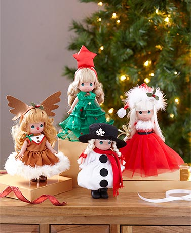 Precious Moments® Christmas Dolls