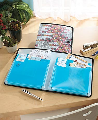 DocIt® 8-Pocket Organizational Folder